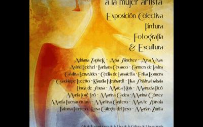 """Exposición: """"Homenaje a la mujer artista"""""""