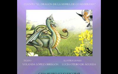 """Mujeres artistas de Los Molinos: """"El dragón de la Sierra de Guadarrama""""."""