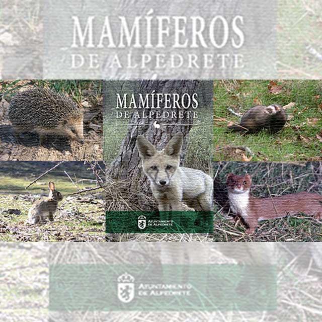 Presentación: Guía Mamíferos de Alpedrete.