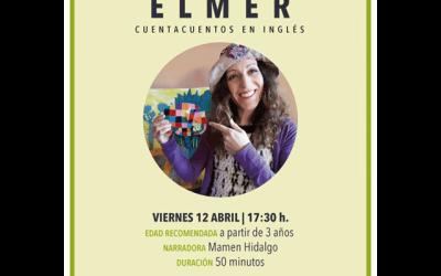 """Viernes de cuento, en inglés: """"Elmer"""", con Mamen Hidalgo."""