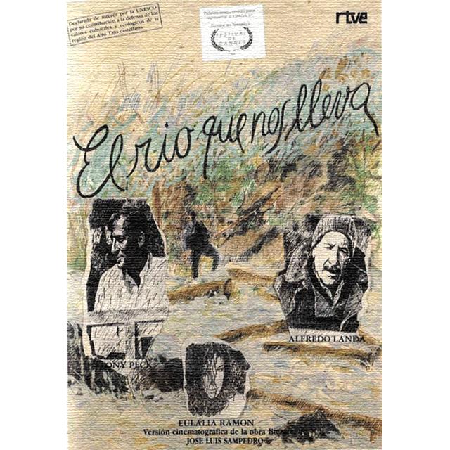 """Cine de Libro: """"El río que nos lleva"""", de Jose Luís Sampedro."""