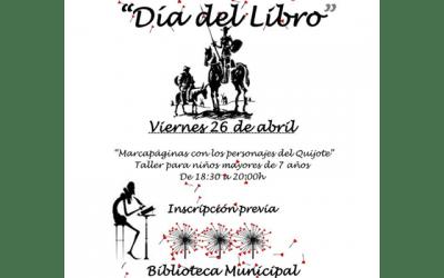 """Taller: """"Marcapáginas con personajes del Quijote"""""""