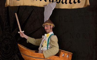 """El pirata Guarrabata y la isla de La Palmera"""
