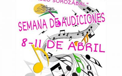 Audiciones: Escuela Municipal de Música Pablo Sorozábal
