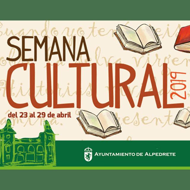 Semana Cultural y Día del Libro 2019 en Alpedrete.