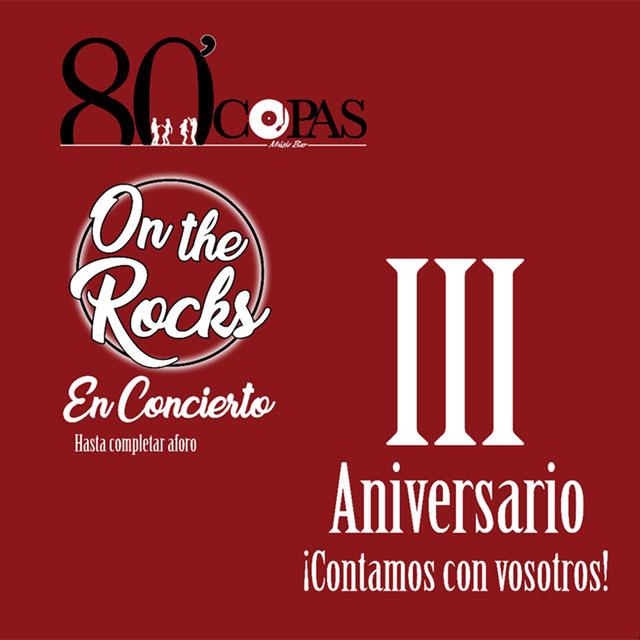III Aniversario de 80'Copas.