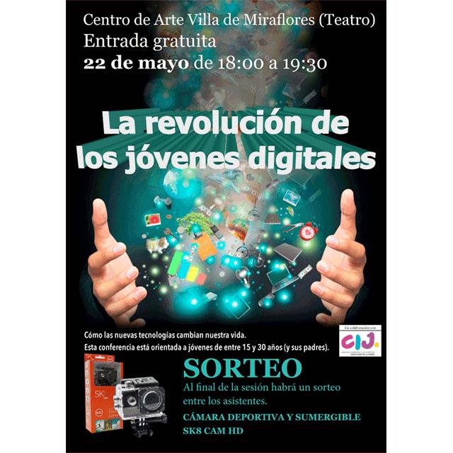 """Conferencia: """"La revolución de los jóvenes digitales"""""""