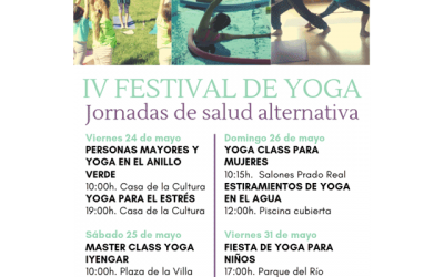 IV Festival de Yoga: Jornadas de salud alternativa.