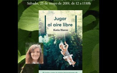 """Katia Hueso: """"Jugar al aire libre"""""""