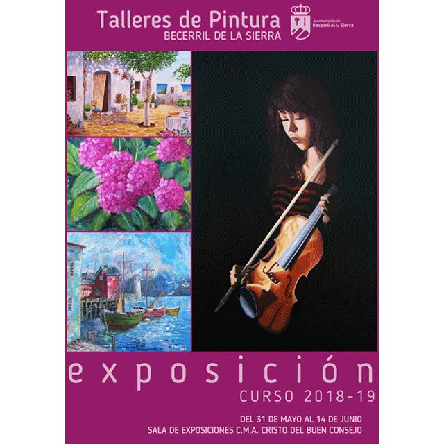 Exposición: Talleres de Pintura de Becerril de la Sierra (infantil y adultos)
