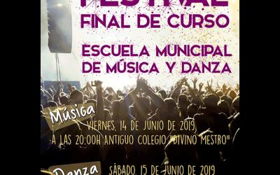 Festival de fin de curso: EMMD de Los Molinos.