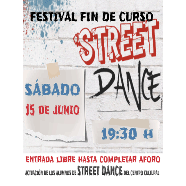 Festival de fin de curso: Street Dance