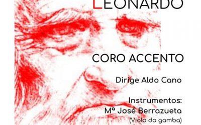"""Coro Accento: """"El Tempo de Leonardo"""""""