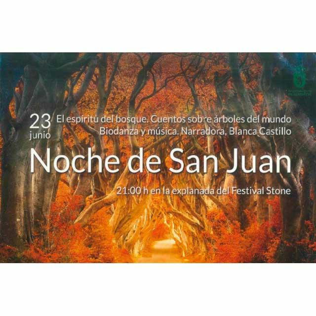 Noche de San Juan en Alpedrete.
