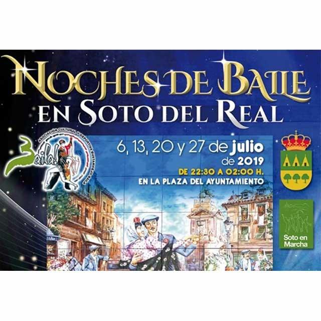 Noches de Baile 2019 en Soto del Real.