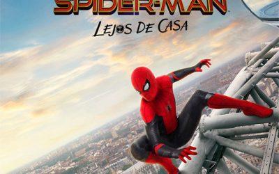 """Cine de verano """"Spiderman: Lejos de casa"""""""