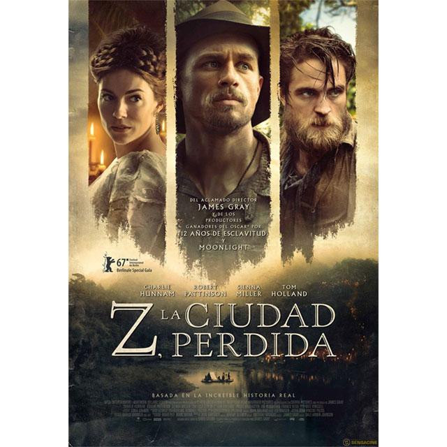 """Cine de verano: """"Z, la ciudad perdida"""""""