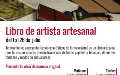 Taller de Libro de Artista artesanal