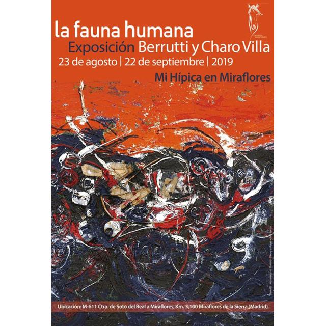 """Berrutti y Charo Villa: """"La fauna humana"""""""