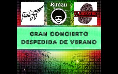 Vuelo505 + Los Rimau + Clandestino