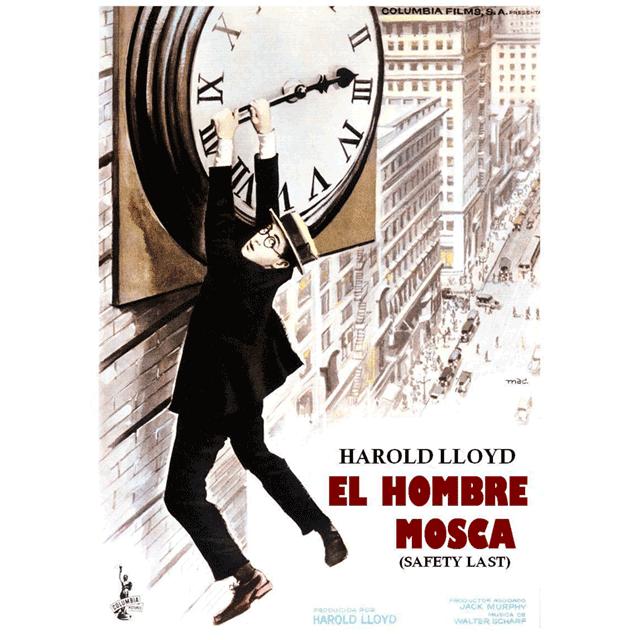 """Cine: """"El hombre mosca"""", de Harold Lloyd."""