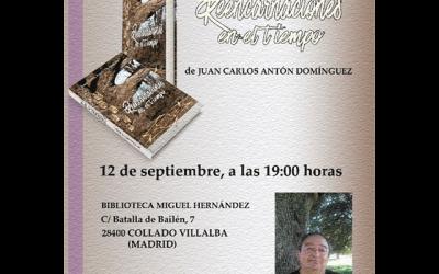 """Presentación del libro """"Reencarnaciones en el tiempo"""""""