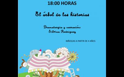 """""""El árbol de las historias"""" con Silvia Rodríguez."""