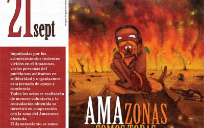 """Jornada solidaria: """"AMAzonas somos todas"""""""