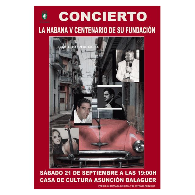 """Concierto: """"La Habana, quinto aniversario"""""""
