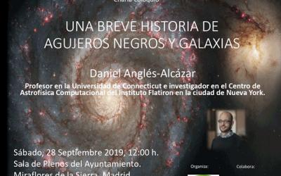 """Charla-coloquio: """"Una breve historia de agujeros negros y galaxias"""""""