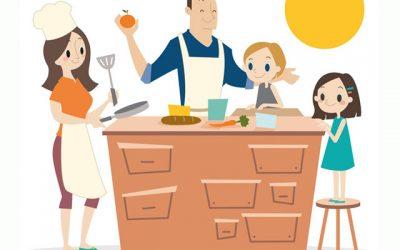 """Taller: """"Cocinar en familia está de moda"""""""