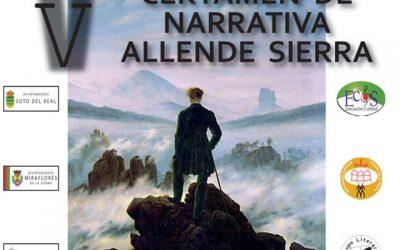 Entrega de Premios: V Certamen de Narrativa Allede Sierra.
