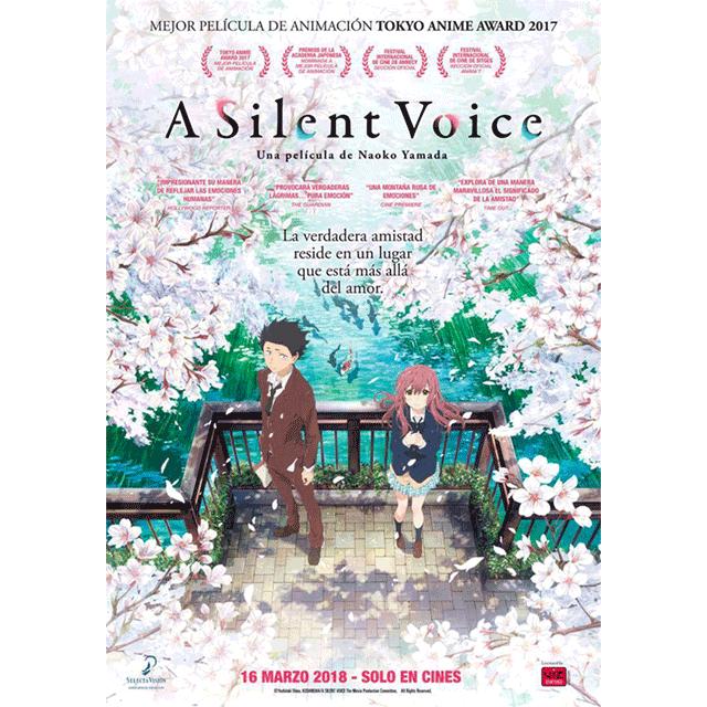 """Cine de verano: """"A silent voice"""""""