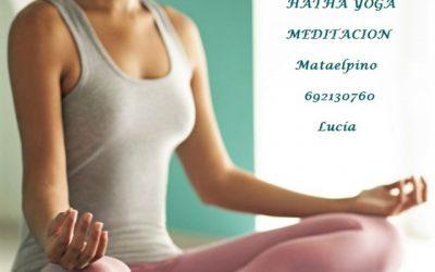 Hatha Yoga y Meditación en Mataelpino.