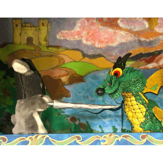 """Títeres: """"El Dragón Amice"""""""
