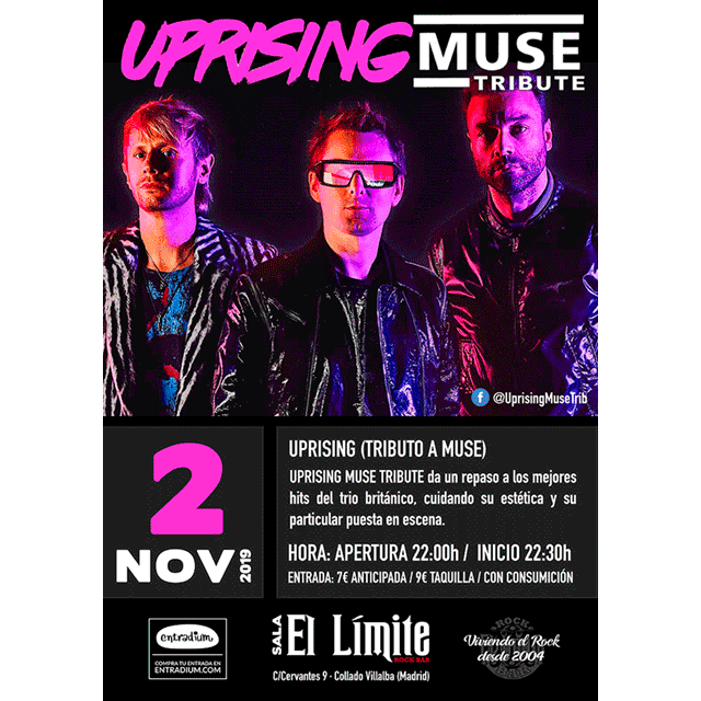 Uprising. Tributo a Muse.