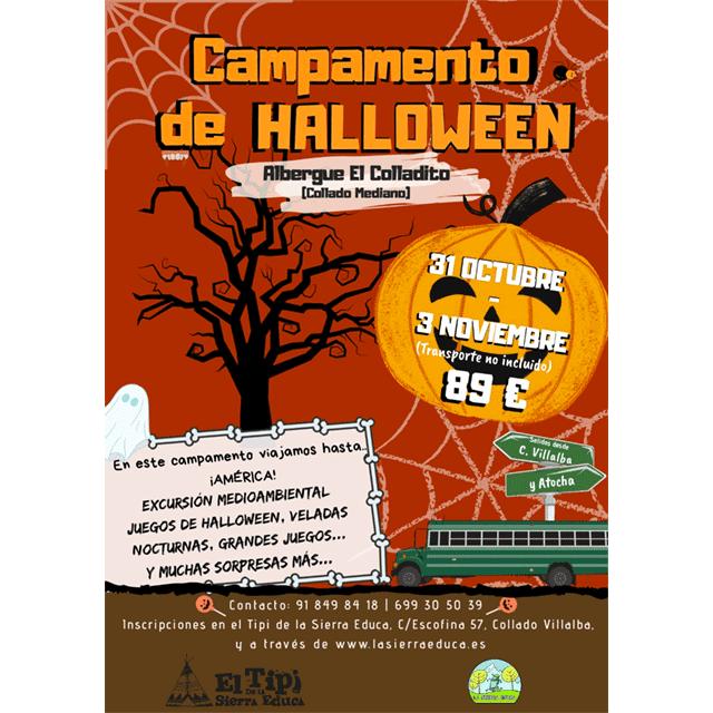 Campamento de Halloween 2019