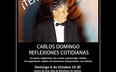 """Carlos Domingo: """"Reflexiones cotidianas"""""""