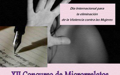 XII Concurso de micro-relatos contra la violencia de género.