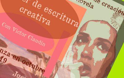 Taller de Escritura Creativa y Laboratorio de Novela con Víctor Claudín.