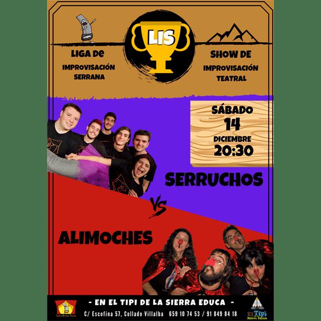 Improvisación Teatral: Serruchos vs. Alimoches