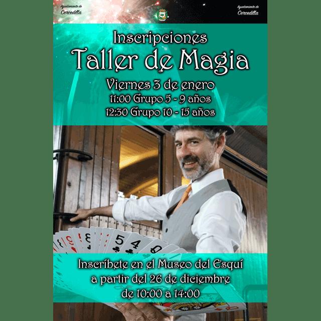 Taller de Magia con Oscar Rui