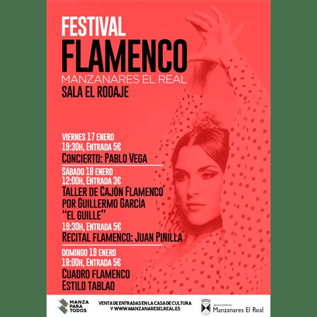 Festival Flamenco en Manzanares El Real (2020)