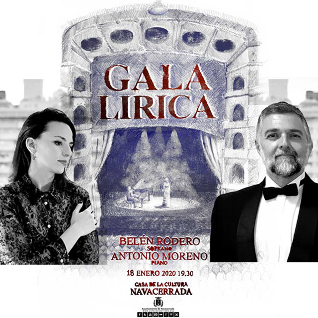 Gala Lírica: Belén Rodero y Antonio Moreno