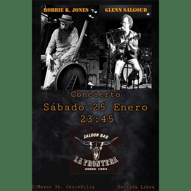 Robbie K. Jones + Glenn Salgoud