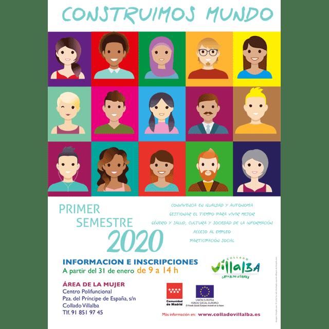 """""""Construimos Mundo"""". Primer semestre 2020."""