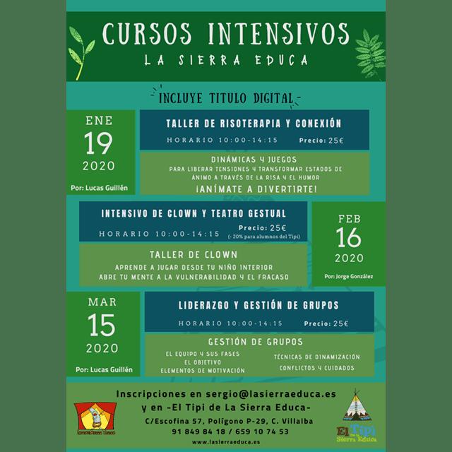 Cursos intensivos de La Sierra Educa.