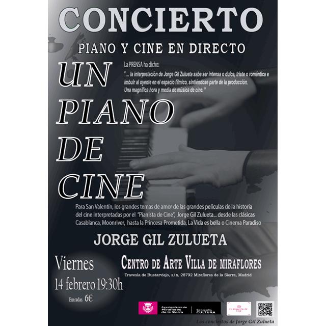 """Jorge Gil Zulueta: """"Un piano de cine"""""""