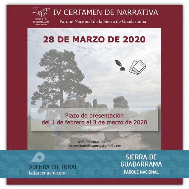 IV Certamen de Narrativa (2020): Parque Nacional Sierra de Guadarrama.