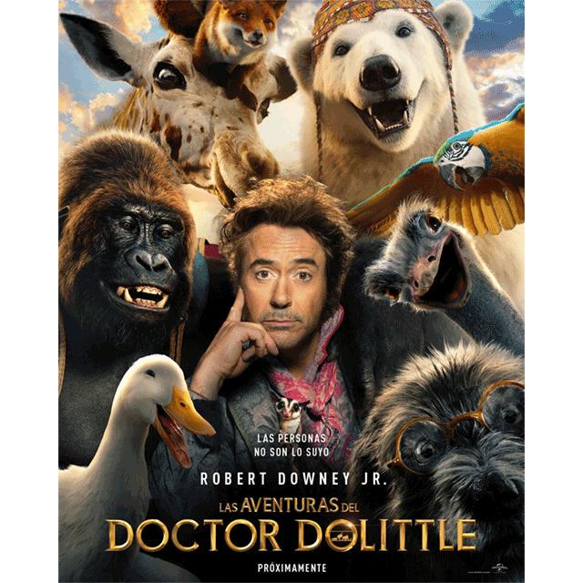 """AutoCine: """"Las aventuras del Doctor Dolittle"""""""